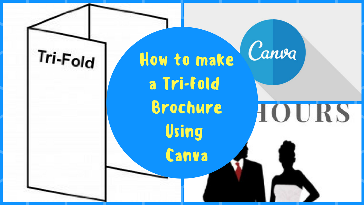 Author Promo Material: How to make and print a tri-Fold Brochure on Canva @SylviaHubbard1 #h2e #affordable #promotips #video #youtube